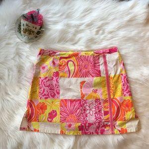 Lilly Pulitzer Pink Skort Soft Stretch Size 4